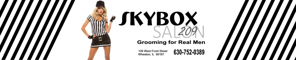 Welcome to SKYBOX 209 - A Men's Salon